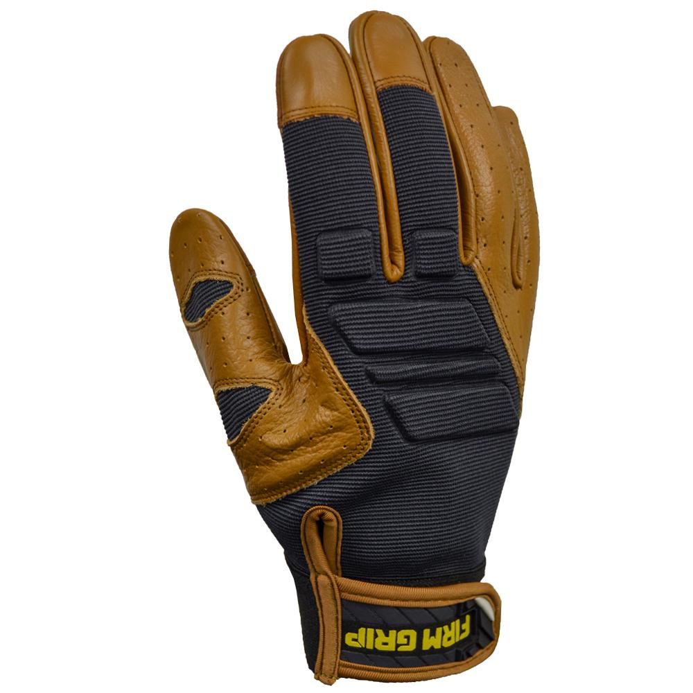 FirmGrip Firm Grip Gel Pro Hybrid Medium Glove (1-Pair), Adult Unisex, Brown