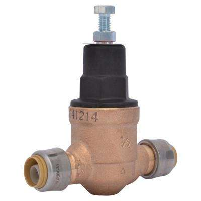 1/2 in. Bronze EB-45 Direct Push-to-Connect Pressure Regulator Valve