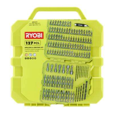 Drill and Drive Kit (127-Piece) with Carrying Case