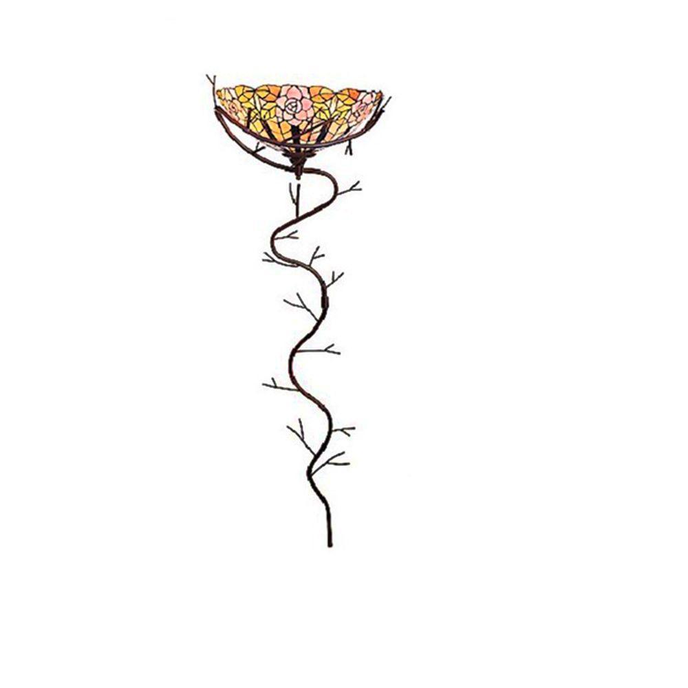 Sherry 2-Light Yellow Indoor Tiffany Style Wallchiere Lamp