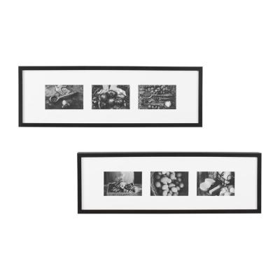StyleWell Black Gallery Wall Picture Frame (Set of 2)
