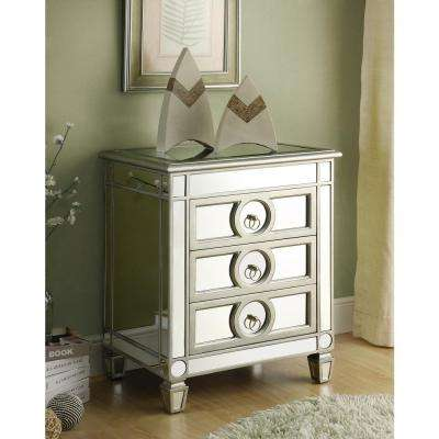 Mirrored Storage Console Table