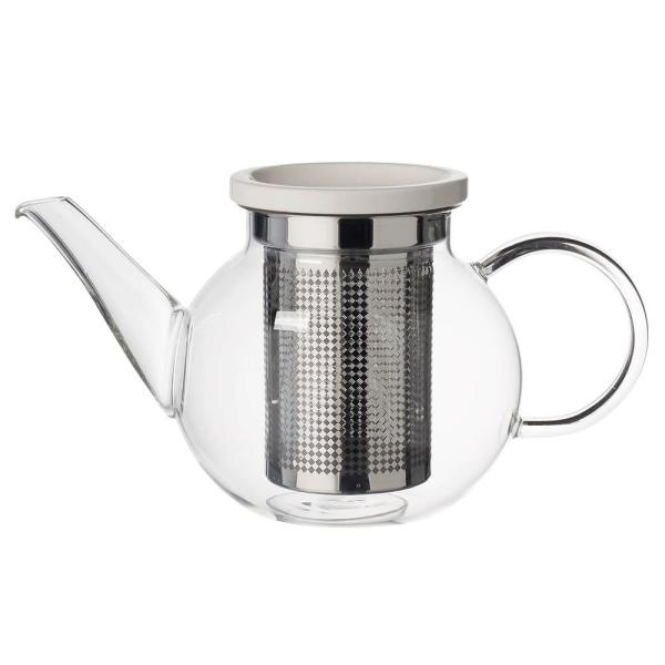 Artesano Hot Beverages 2-Cup Small Teapot with Strainer