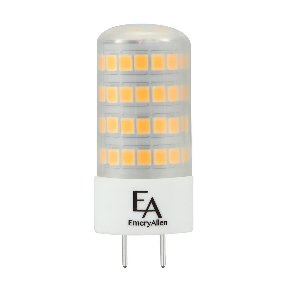 EmeryAllen 60-Watt Equivalent G8 Base Dimmable 3000K LED Light Bulb Soft White (2-Pack)