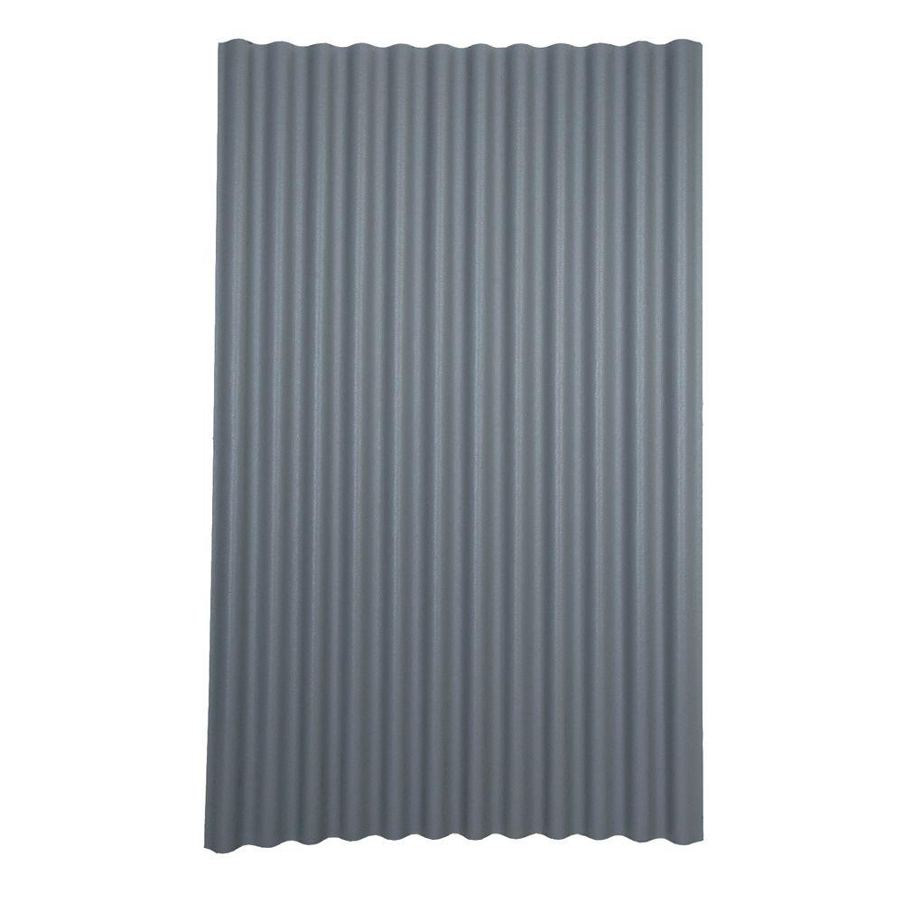 Ondura 6 ft. 7 in. x 4 ft. Asphalt Corrugated Roof