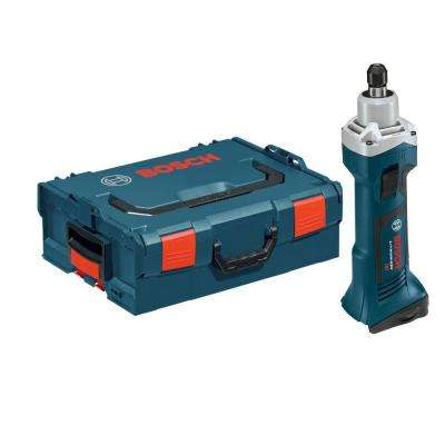 18 Volt Lithium-Ion Cordless Electric 1/4 in. Variable Speed Die Grinder with L-BOXX-2 Hard Case (Tool-Only)