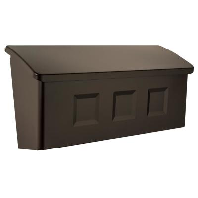 Wayland Rubbed Bronze Wall Mount Mailbox