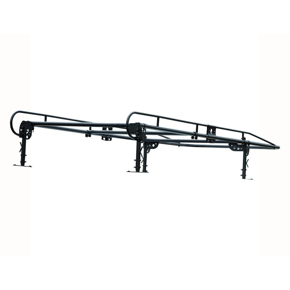 Buyers Products Company 13-1/2 ft. 1,000 lbs. Capacity Black Steel Service Body Ladder Rack