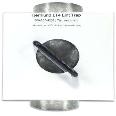 8.4 in. x 8 in x 10.1 in. Secondary Lint Trap for Dryers Booster Fans
