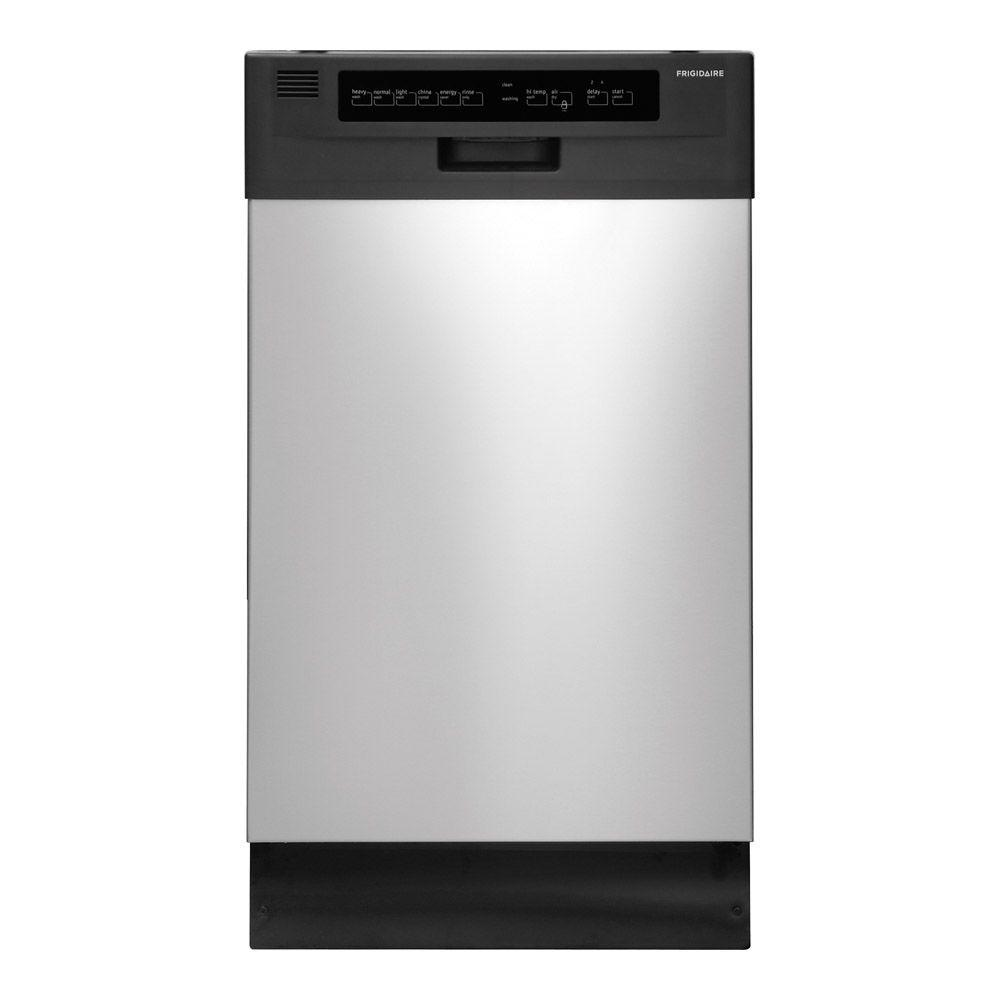 Front Control Dishwasher In Stainless Steel With Tub Energy