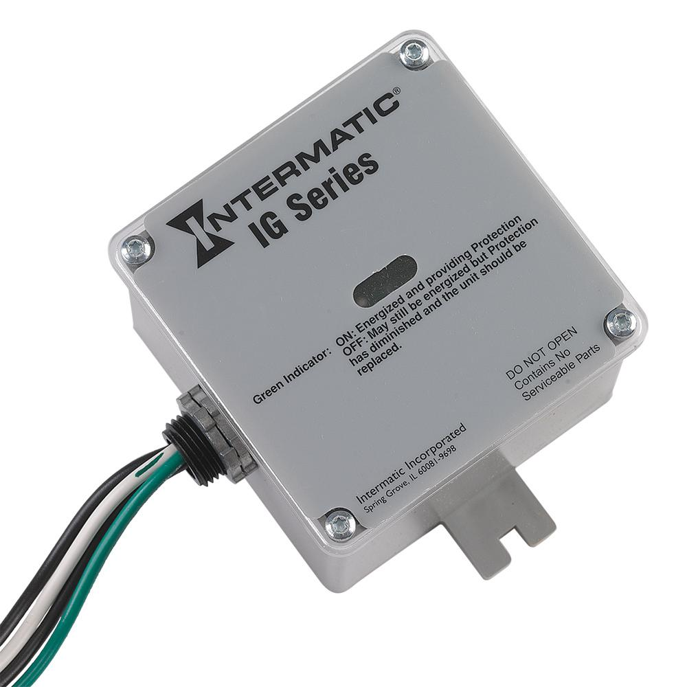 Intermatic Type 1 or 2 Surge Protective Device - White