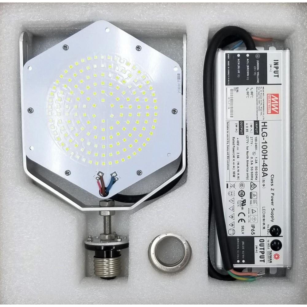 500-Watt Equivalent SHOEBOX Retrofit Kit LED Light Bulb Daylight