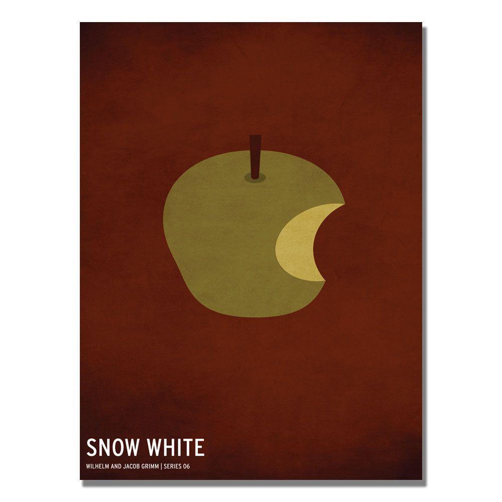 Trademark Fine Art 30 in. x 47 in. Snow White Canvas Art