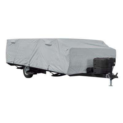 PermaPRO 204 in. L x 88 in. W x 42 in. H Folding Camping Trailer Cover