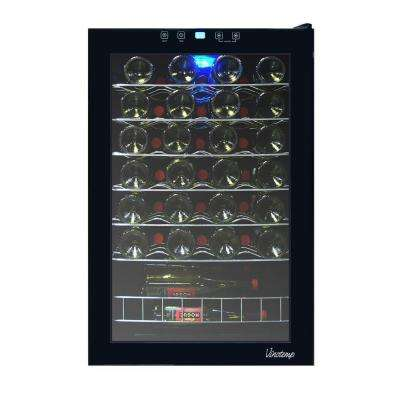 21.25 in. 48-Bottle Touch Screen Wine Cooler