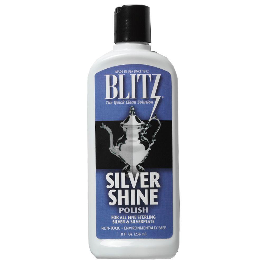 8 oz. Silver Shine Polishing Liquid