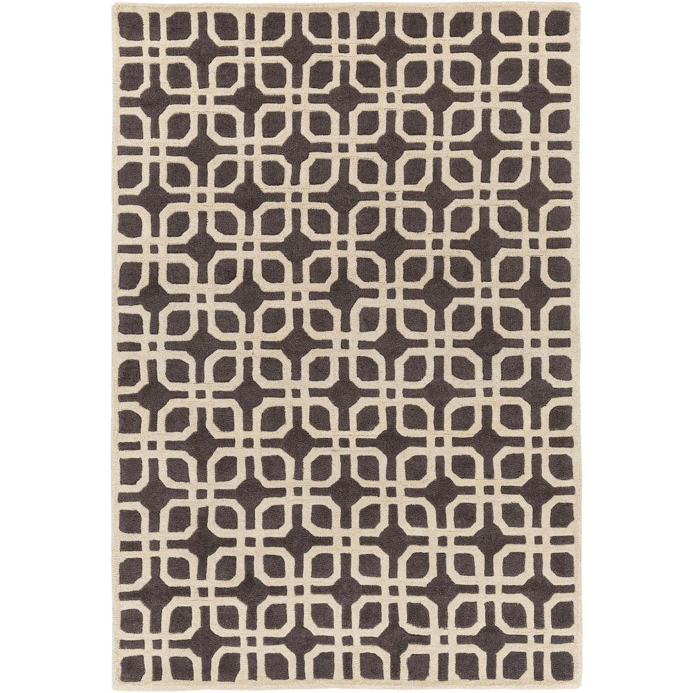 Transit Madison Gray 4 ft. x 6 ft. Indoor Area Rug