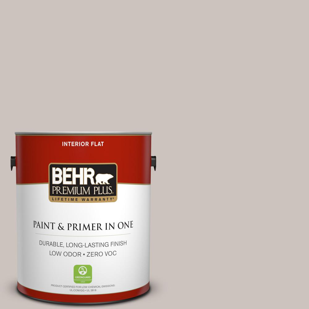BEHR Premium Plus 1-gal. #790A-3 Road Runner Zero VOC Flat Interior Paint