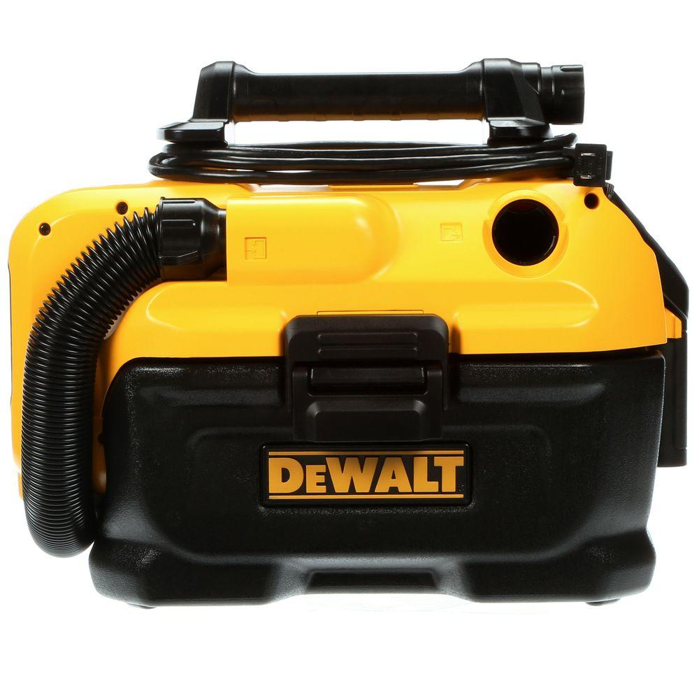 DEWALT DCV581H 18-Volt//20-Volt MAX Cordless//Corded Wet-Dry Vacuum