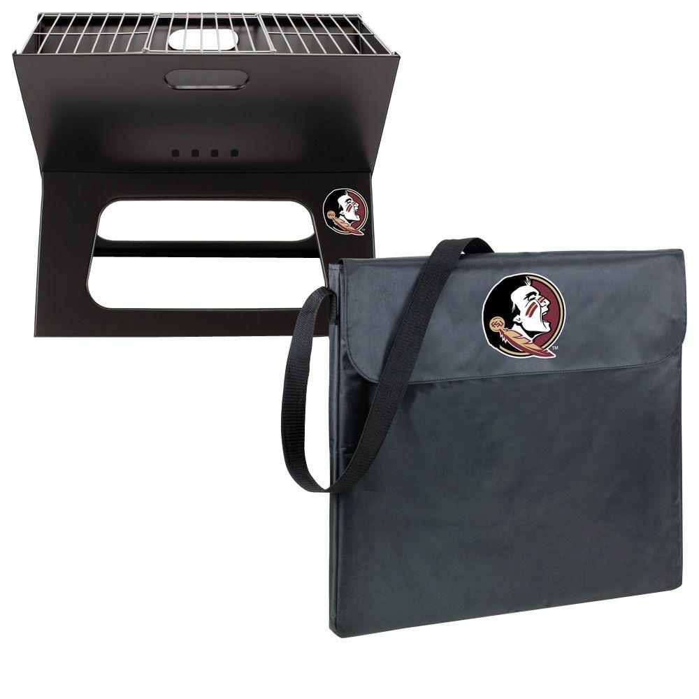 Picnic Time X-Grill Florida State Folding Portable Charcoal Grill