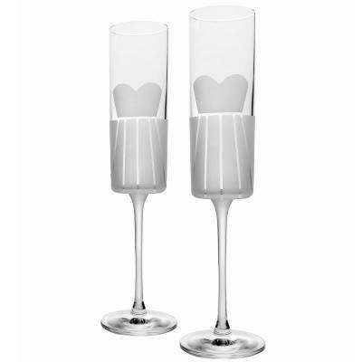 Wedding Cheers Formal (Dress/Dress) 5.75 oz. Flute (Set of 2)