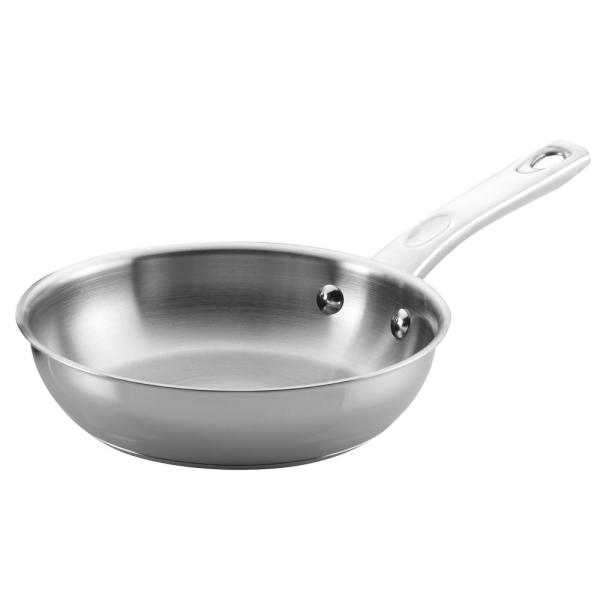 Ayesha Curry Home Collection 8.5 in. Stainless Steel Skillet