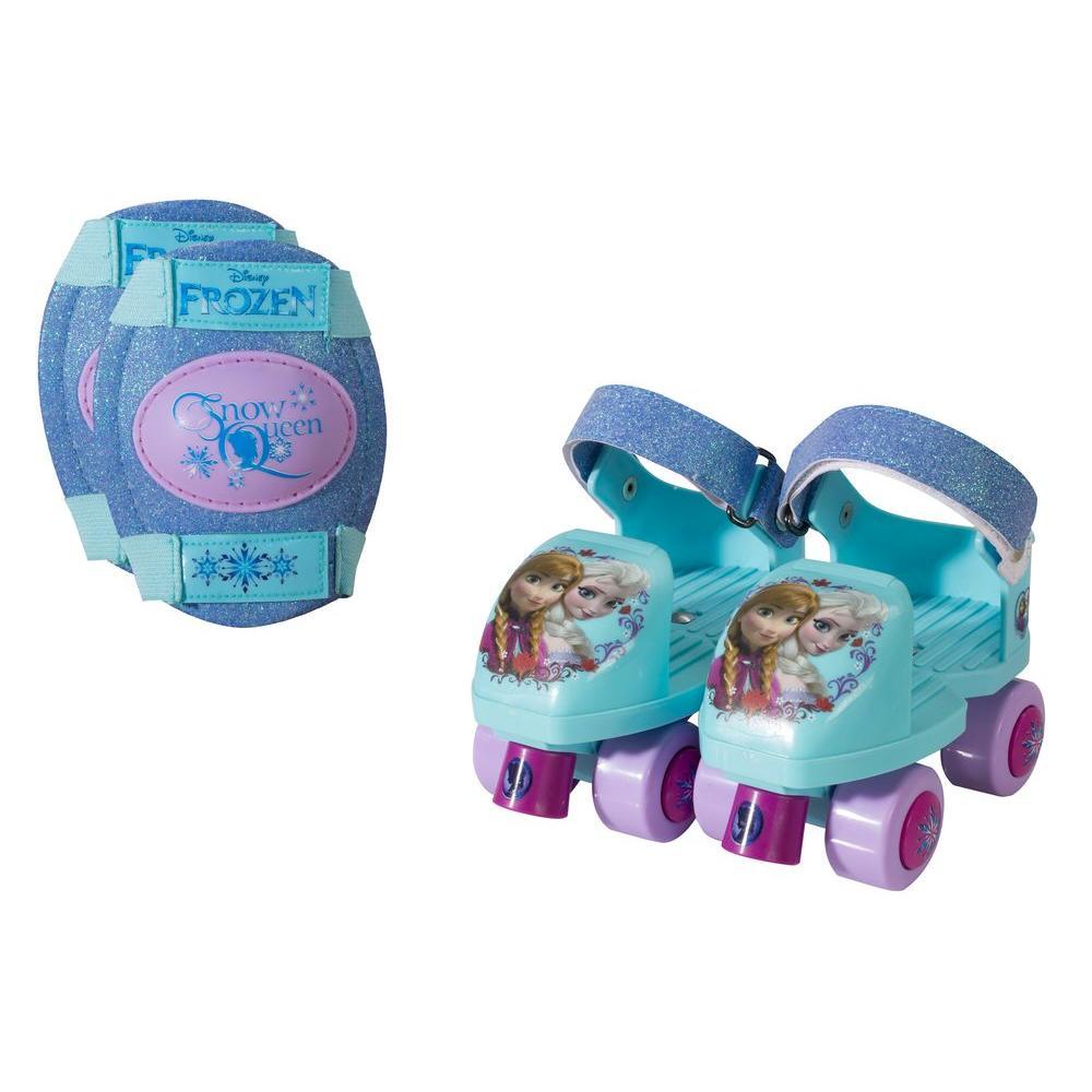 Frozen Glitter Junior Size 6 - 12 Kids Roller Skates with...