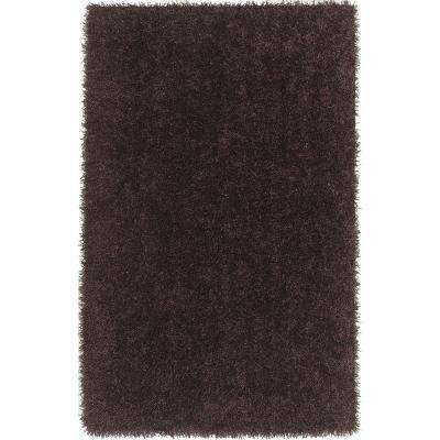Decadent 1 Plum 3 ft. 6 in. x 5 ft. 6 in. Area Rug