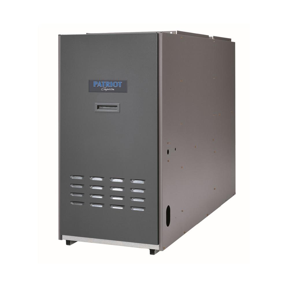 83% AFUE 95,000 BTU Output Lowboy Rear Flue Oil Hot Air Furnace