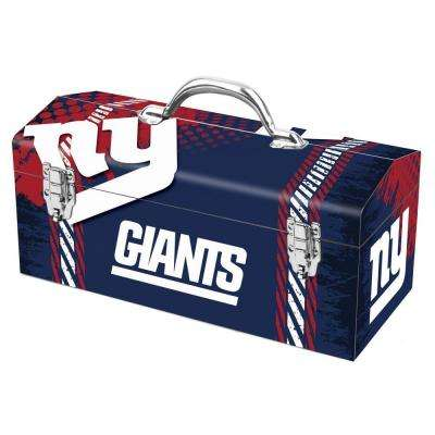 7.2 in. New York Giants NFL Tool Box
