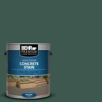 1 gal. #PFC-45 Patio Green Solid Color Interior/Exterior Concrete Stain