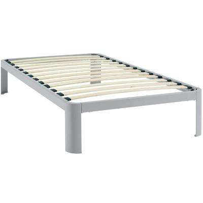 Corinne Gray Twin Bed Frame