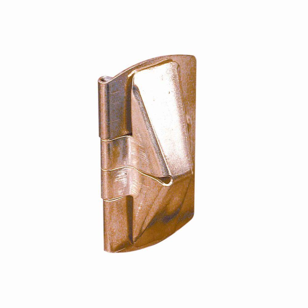 Double Hung Window Security : Prime line brass double hung wood window flip lock u