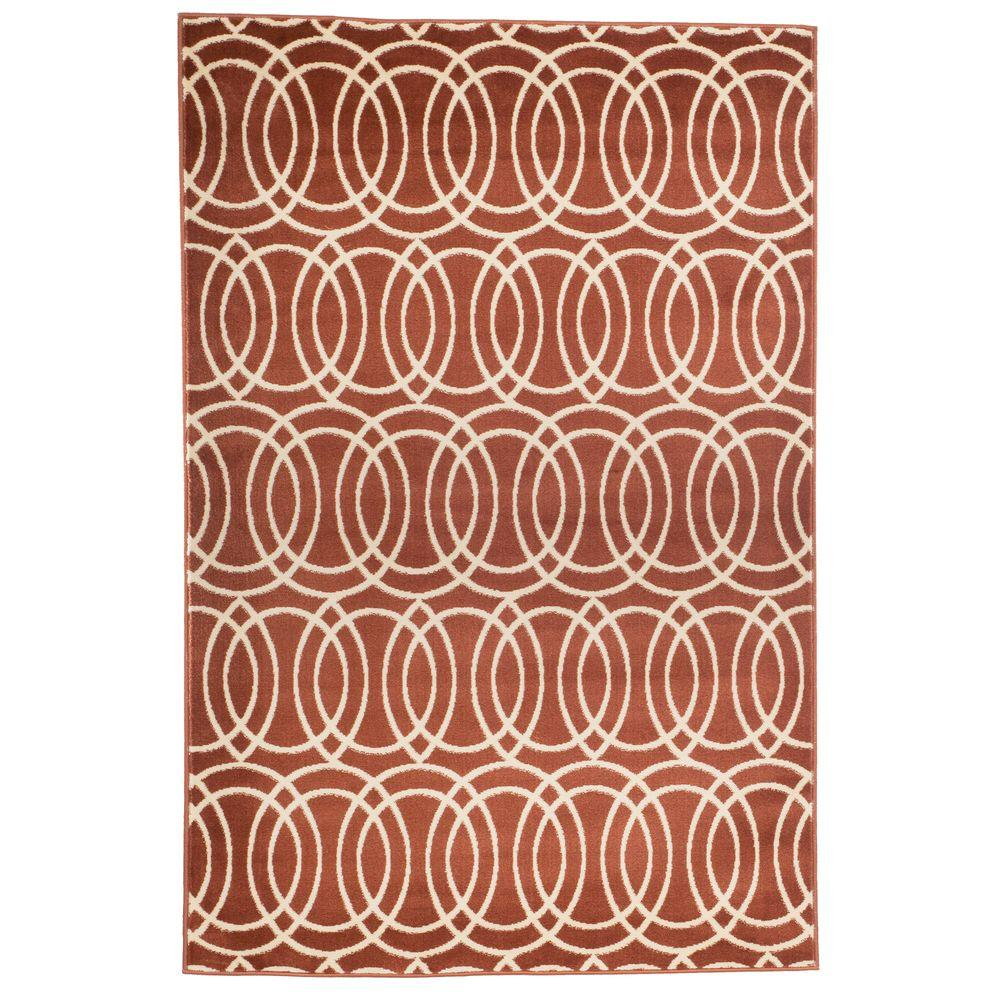 Geometric brick 4 ft x 6 ft area rug 62 2043a 46 the for Geometric print area rugs