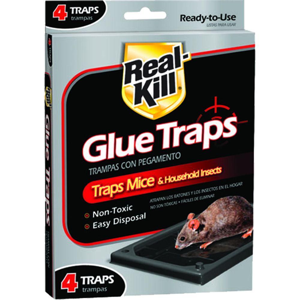 Mouse Glue Traps (4-Count)