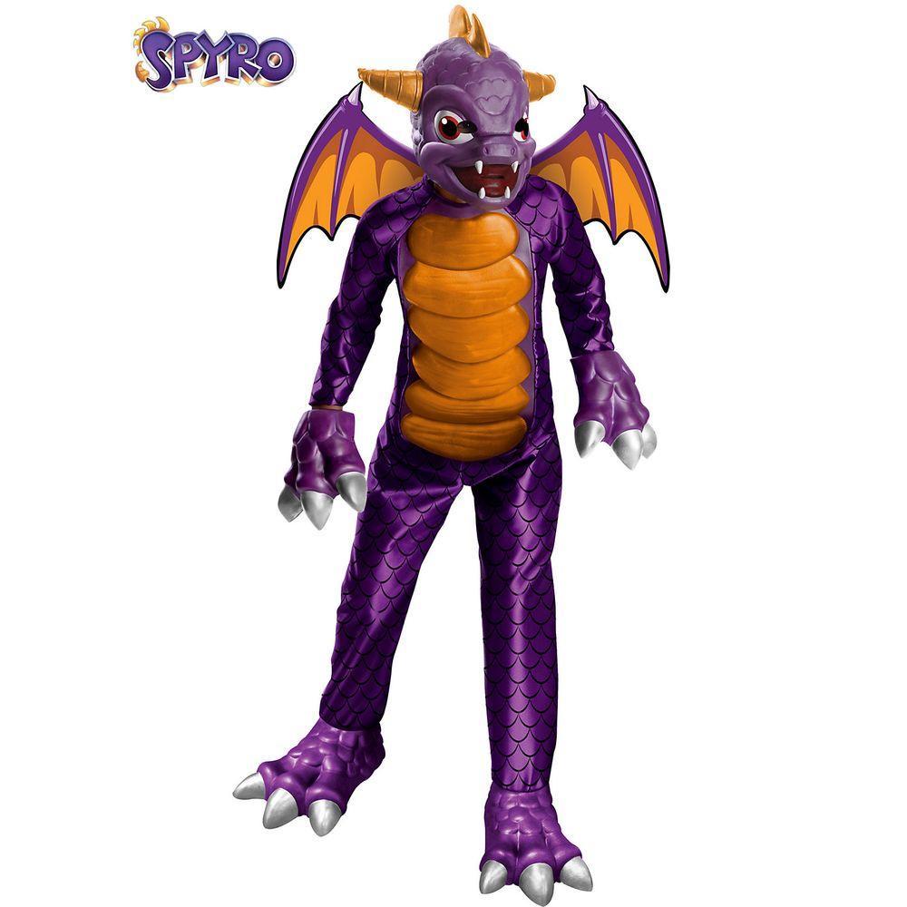 Boys Deluxe Skylanders Spyro Costume