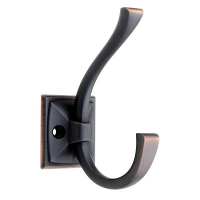 Ruavista 4-1/3 in. Venetian Bronze with Copper Highlights Coat Hook