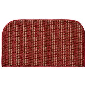 Garland Rug Berber Coloriations Chili Red 18 inch x 30 inch Accent Rug by Garland Rug