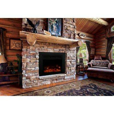 Uplifter 36 in. Electric Fireplace Insert