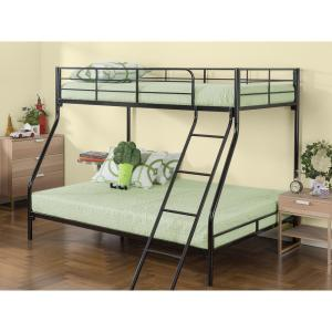 Zinus Quick Lock Twin Over Twin Metal Bunk Bed Hd Qlbb The Home Depot