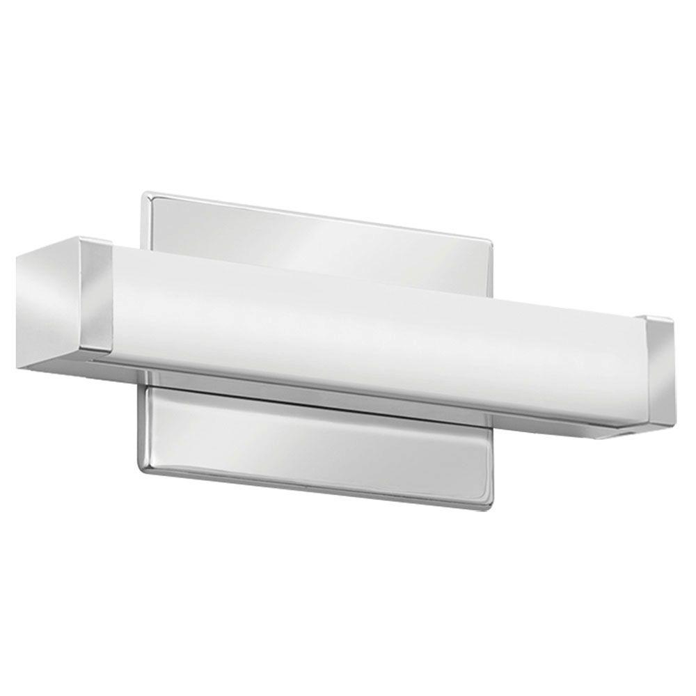 Chrome LED Selectable Color Temp Vanity Light Lithonia Lighting FMVCCLS 2 ft