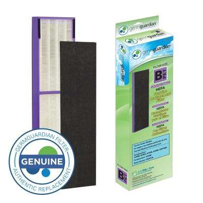 True HEPA with Pet Pure Treatment GENUINE Replacement Filter B for AC4300/AC4800/4900 Series