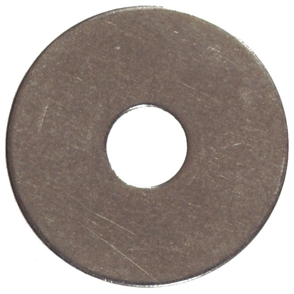 3/8 in. x 1-1/2 in. Stainless-Steel Fender Washer (10-Pack)