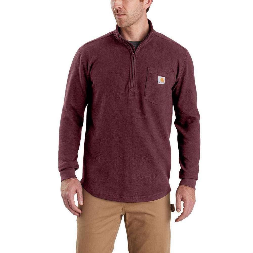 Men's 3X-Large Port Cotton/Polyester Tilden Long Sleeve Half Zip Shirt