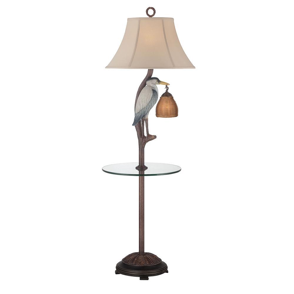 Ivory Indoor Floor Lamp Mai Al 221 Nl Gt Fl The Home Depot