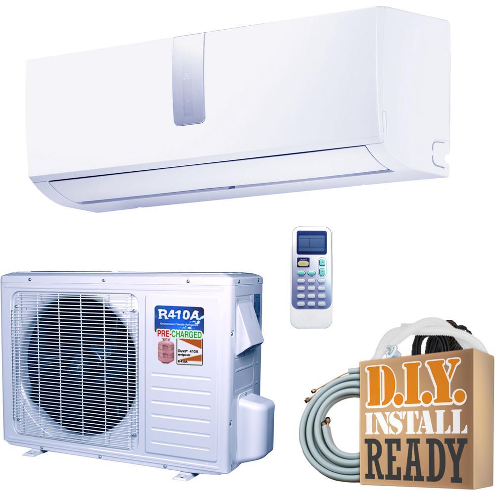 Super Efficiency 12,000 BTU 1 Ton Inverter Ductless Mini Split Air  Conditioner and Heat Pump - 110V/60Hz