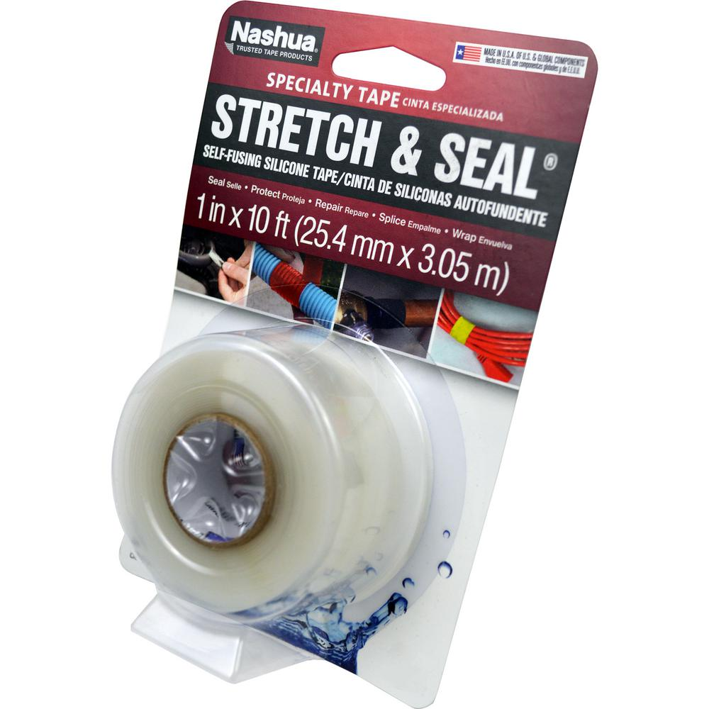 Flooring Stores Nashua Nh: Nashua Tape 1 In. X 3.33 Yd. Stretch And Seal Self-Fusing
