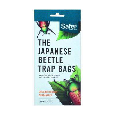 The Japanese Beetle Trap Replacement Bags (3-Pack)