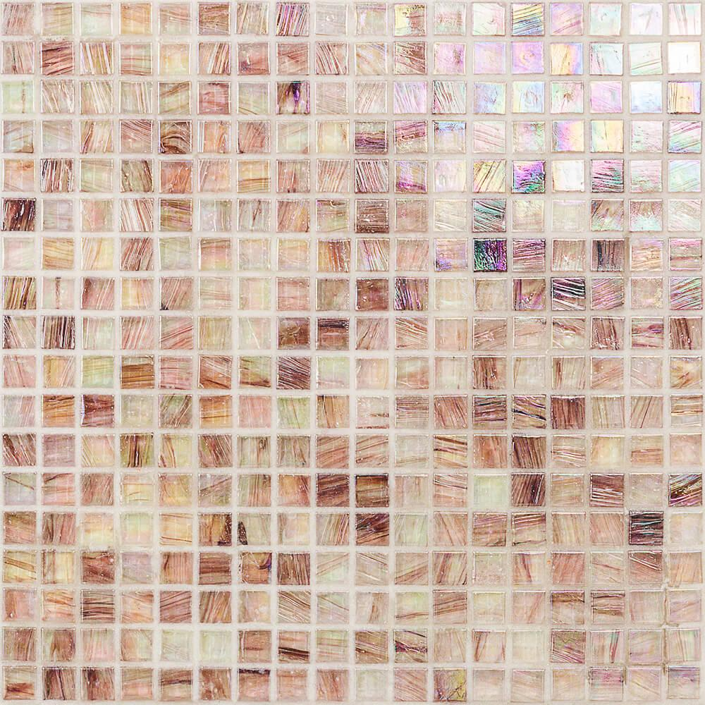 Ivy Hill Tile Breeze Plum 12-3/4 in. x 12-3/4 in. x 6 mm Glass Mosaic Tile