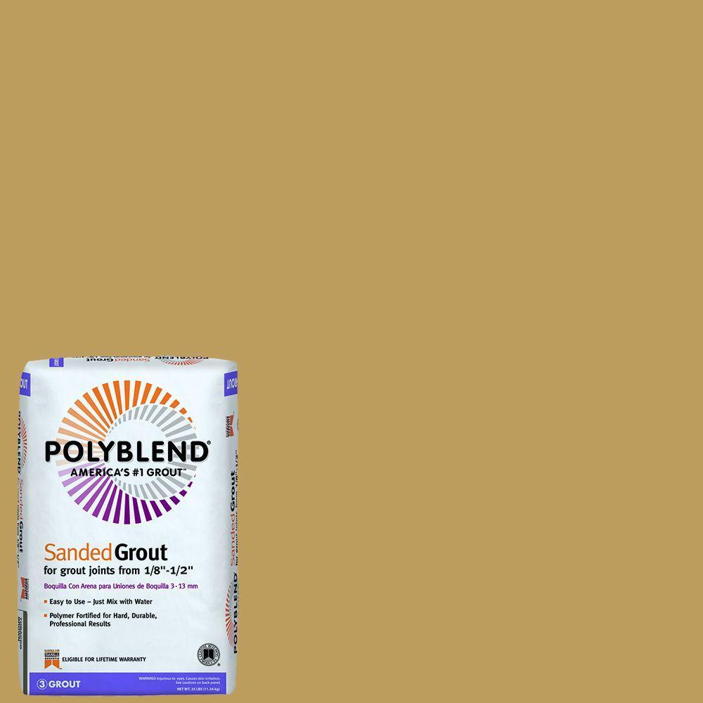 Polyblend #22 Sahara Tan 25 lb. Sanded Grout